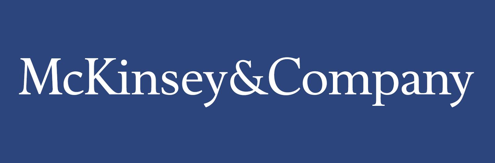 Logo of McKinsey & Company